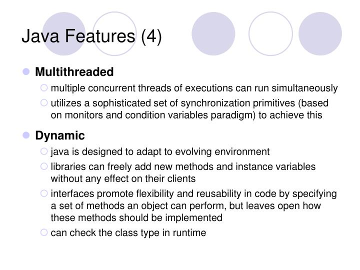 Java Features (4)
