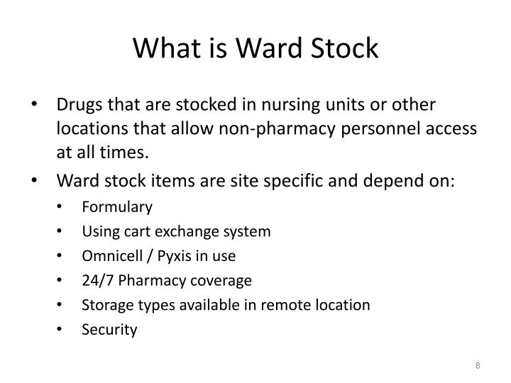 What is Ward Stock