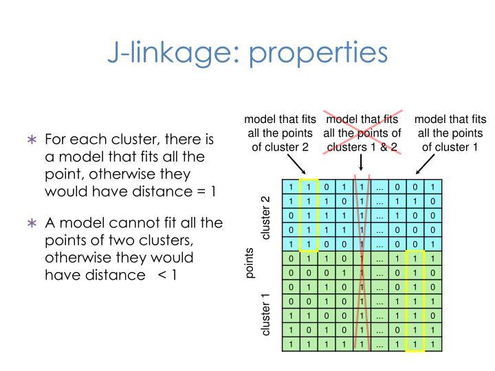 J-linkage