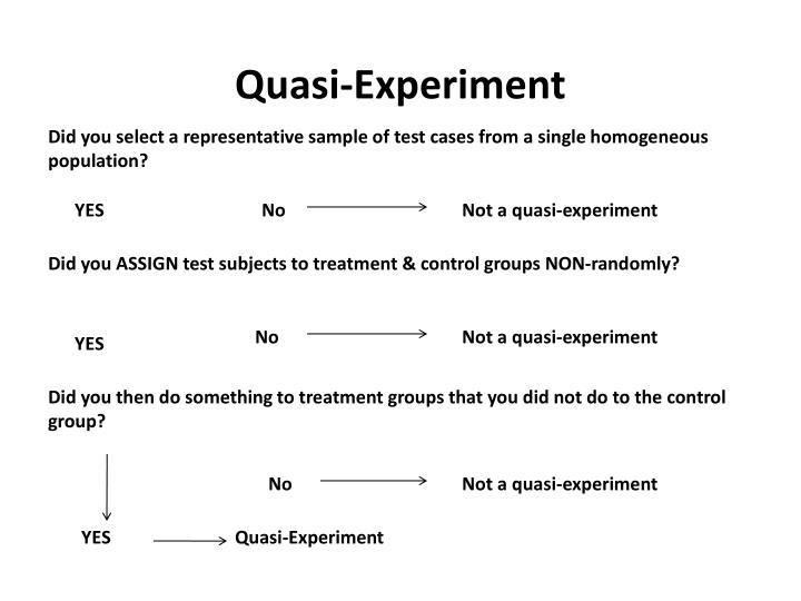 Quasi-Experiment