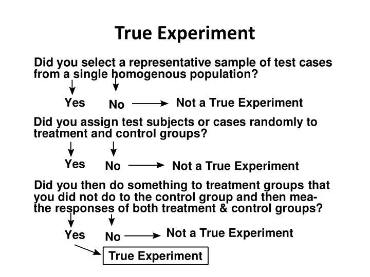 True Experiment