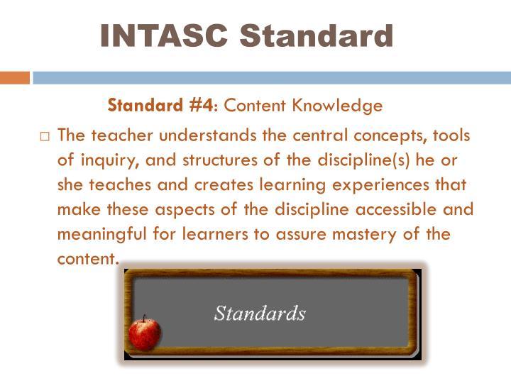 INTASC Standard