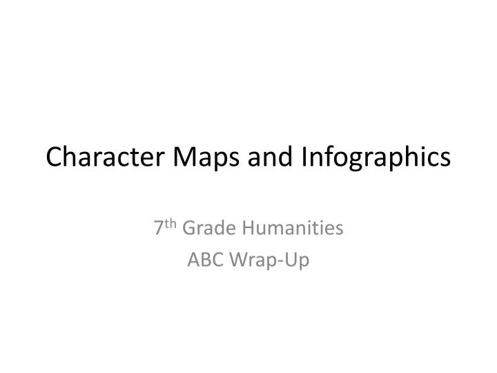 Character Maps and