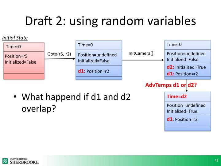 Draft 2: using random variables