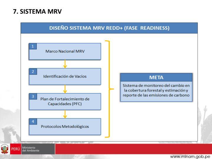 7. SISTEMA MRV
