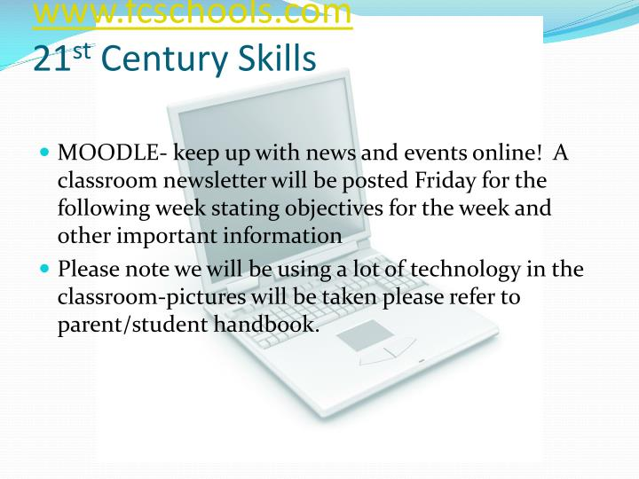 Communication www fcschools com 21 st century skills
