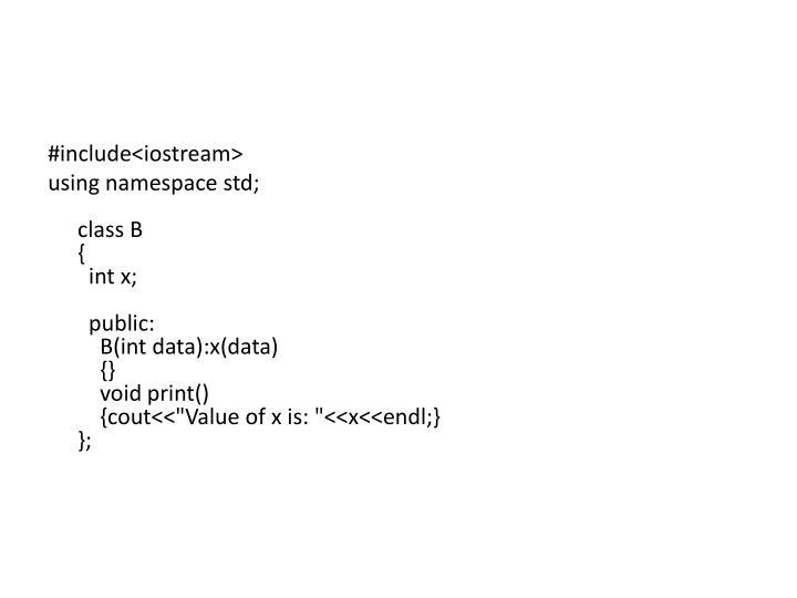 #include<iostream>