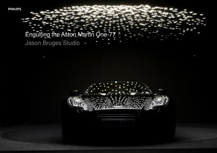 Engulfing the Aston Martin One-77