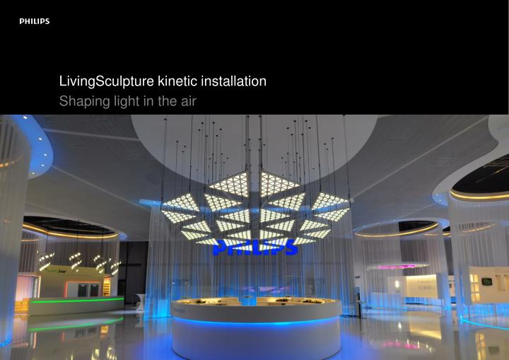 LivingSculpture kinetic installation