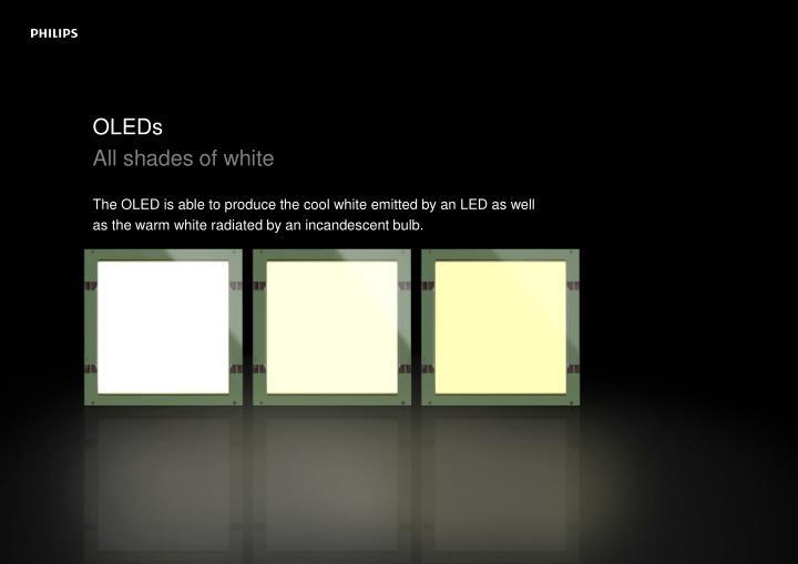OLEDs