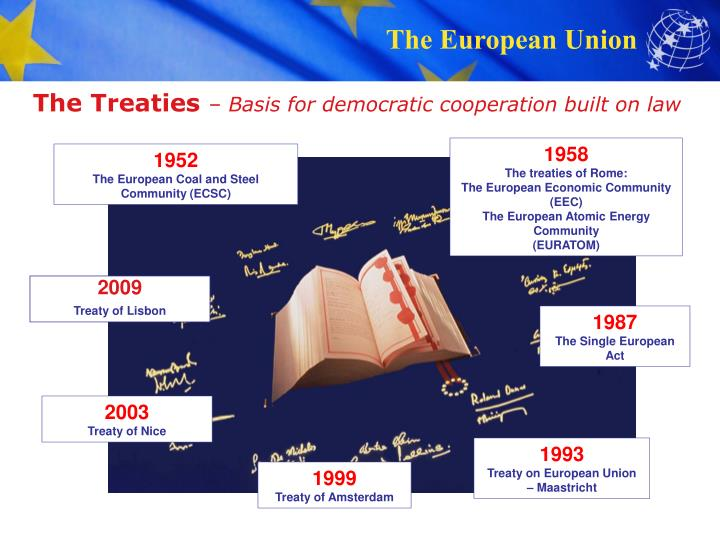 The treaties basis for democratic cooperation built on law