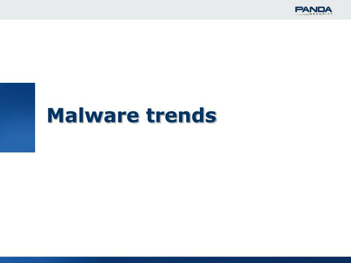 Malware trends