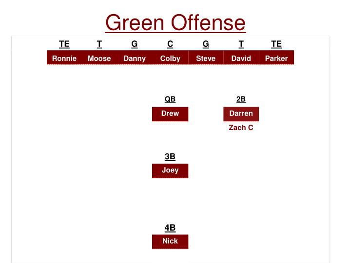 Green Offense