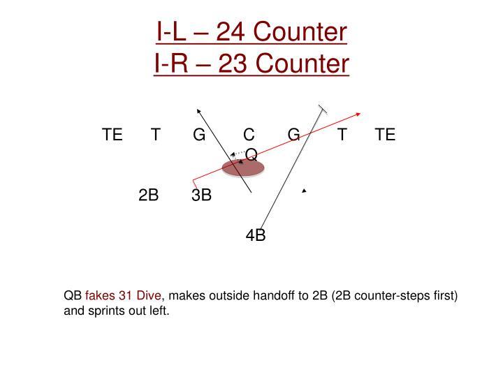 I-L – 24 Counter