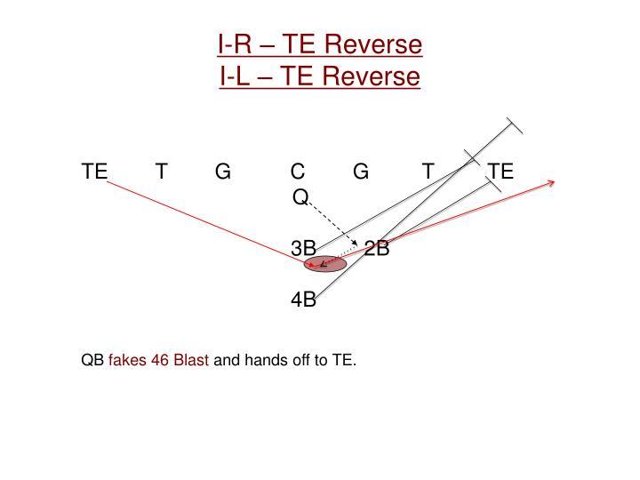 I-R – TE Reverse
