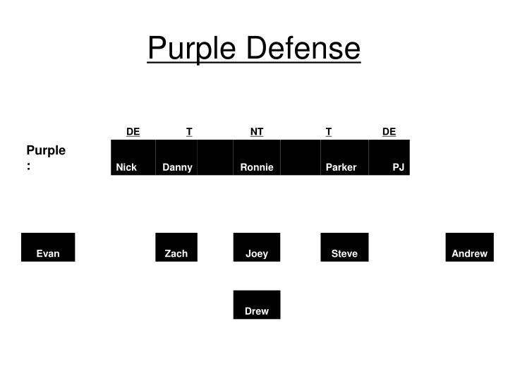 Purple Defense