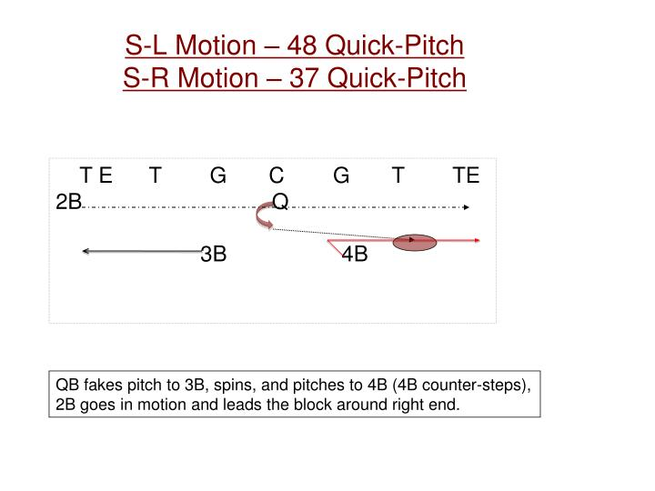 S-L Motion – 48 Quick-Pitch