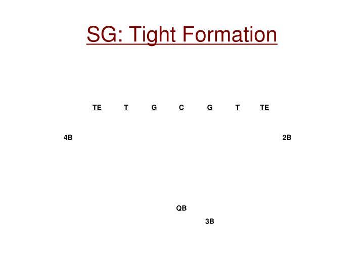 SG: Tight Formation
