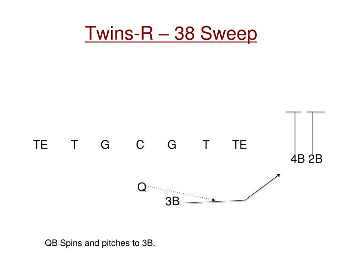 Twins-R – 38 Sweep