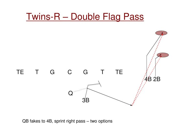 Twins-R – Double Flag Pass