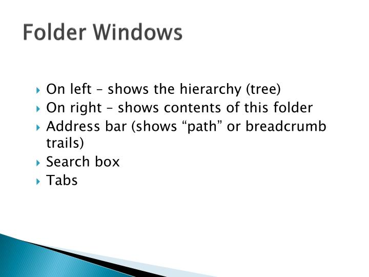 Folder Windows