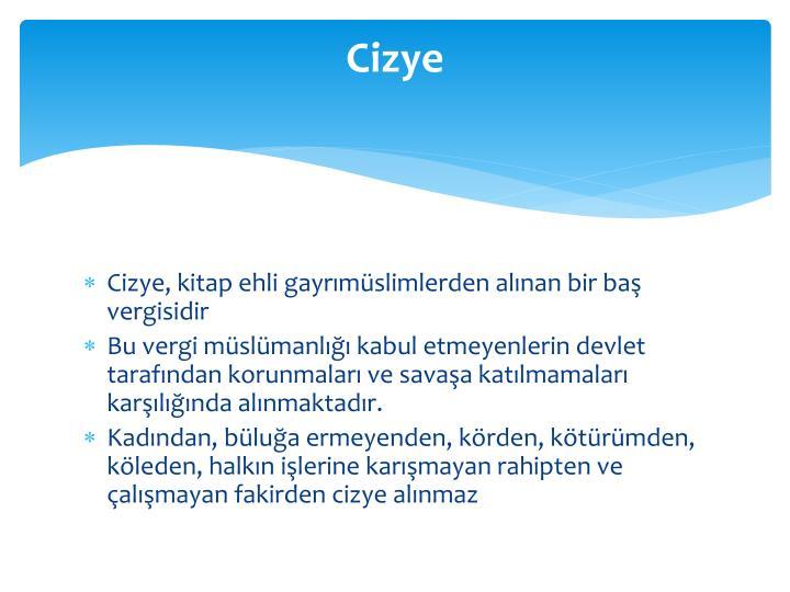 Cizye