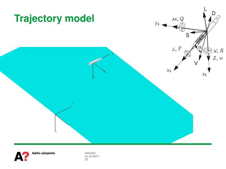 Trajectory model