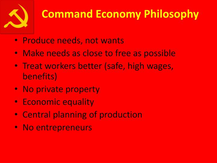 Command Economy Philosophy