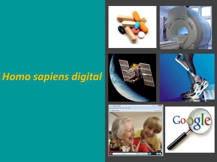 Homo sapiens digital