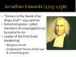 jonathan edwards 1703 1758