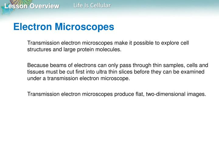 Electron Microscopes