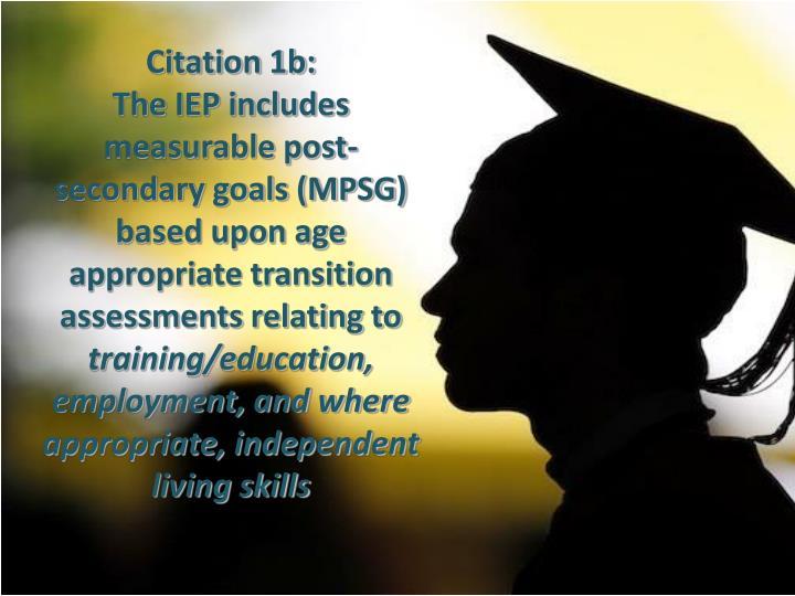 Citation 1b: