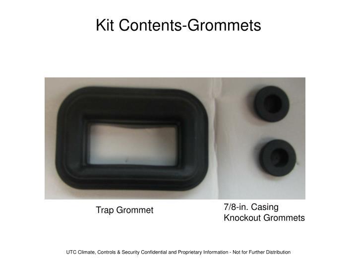 Kit Contents-Grommets