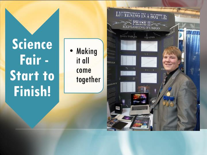 What is a science fair project