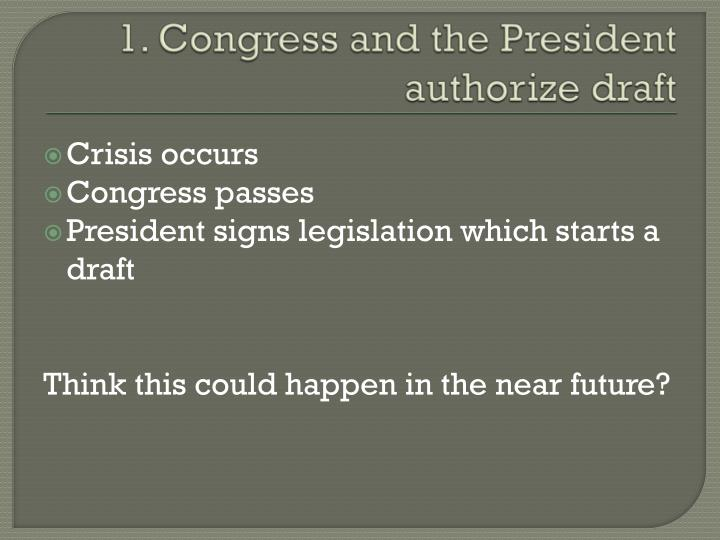 1. Congress
