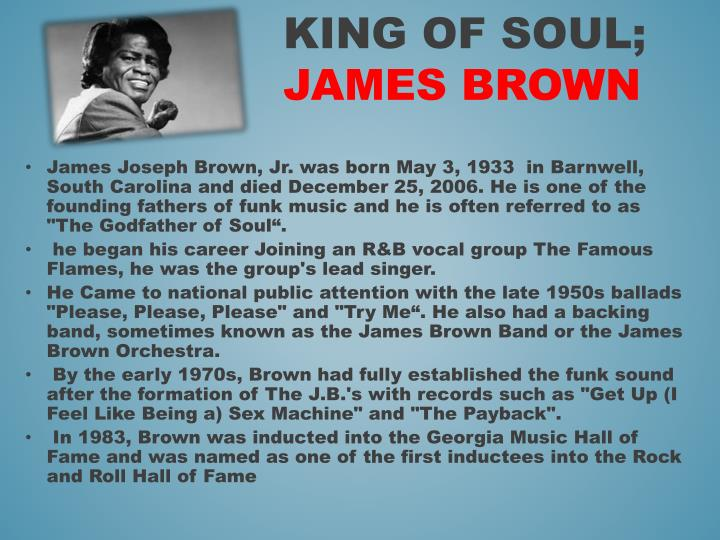 James Joseph Brown,
