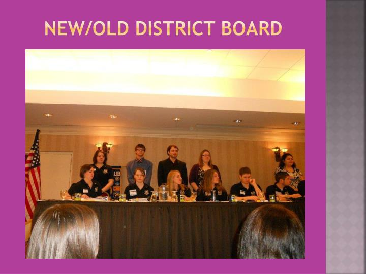 New/old District board