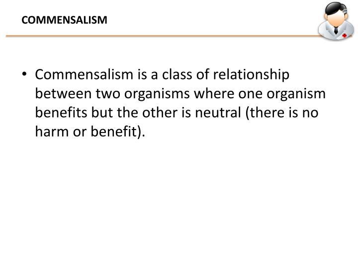 COMMENSALISM