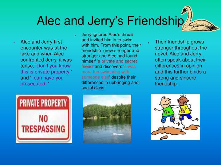 Alec and J