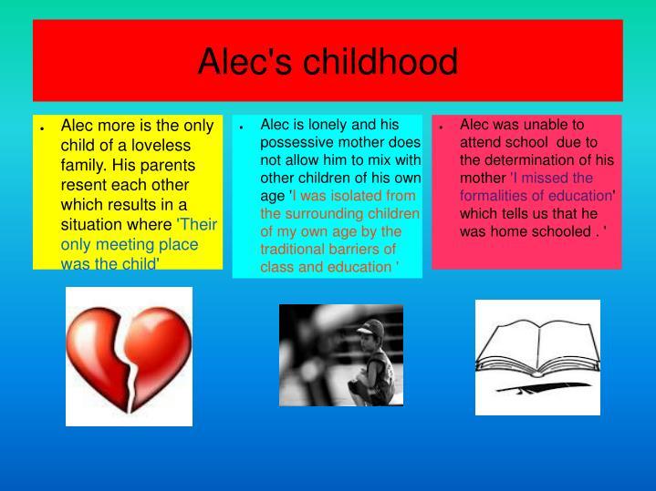 Alec's childhood