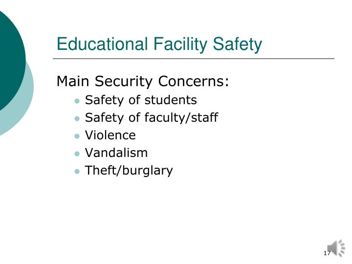 Educational Facility Safety