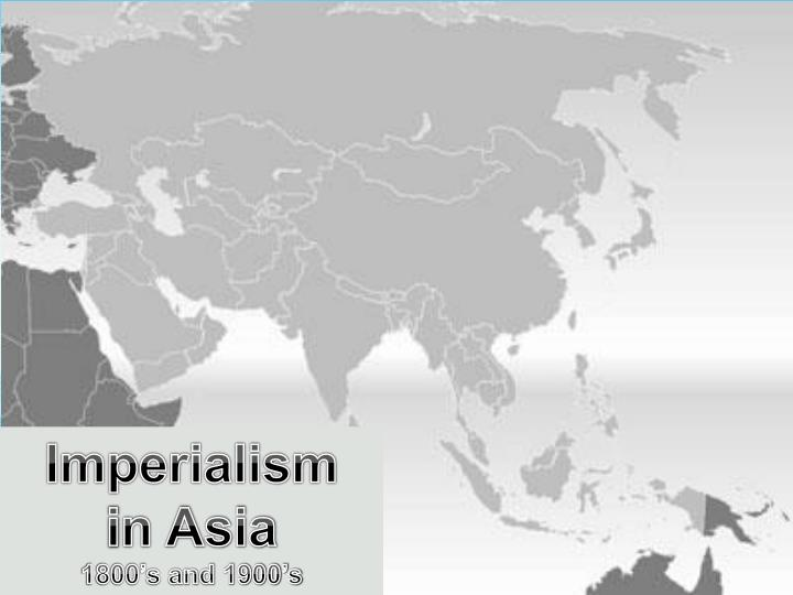 colonialism in west asia Colonialism opened up south east asian agriculture to the world market and new   property relations of the kind found in 'developed' western economies - what.