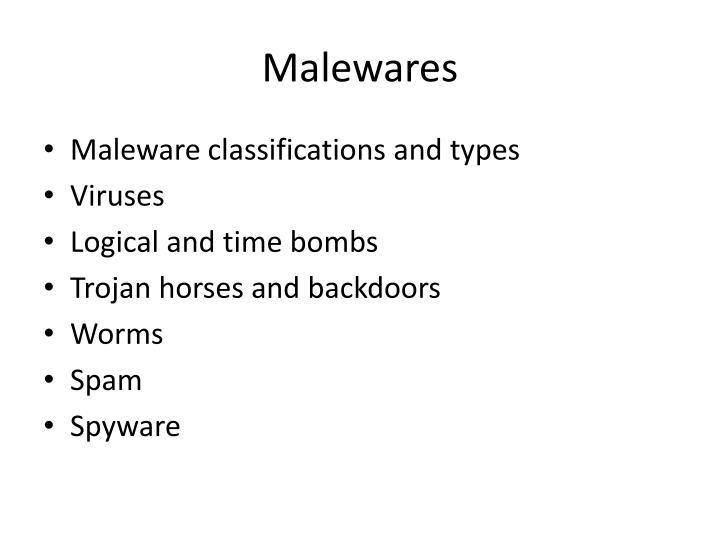 Malewares