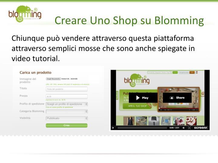 Creare Uno Shop su