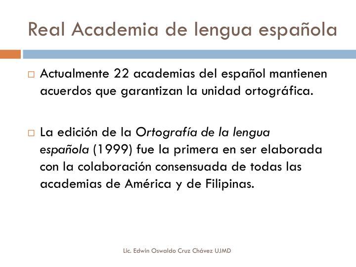Real Academia de
