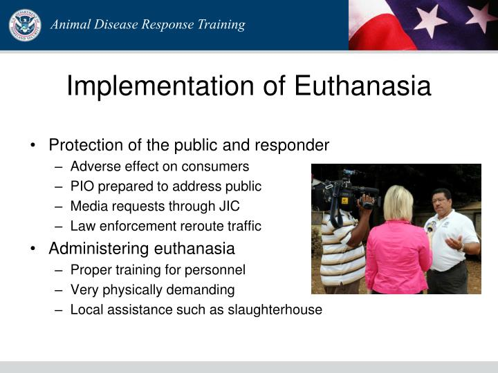 Implementation of Euthanasia