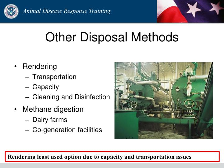 Other Disposal Methods
