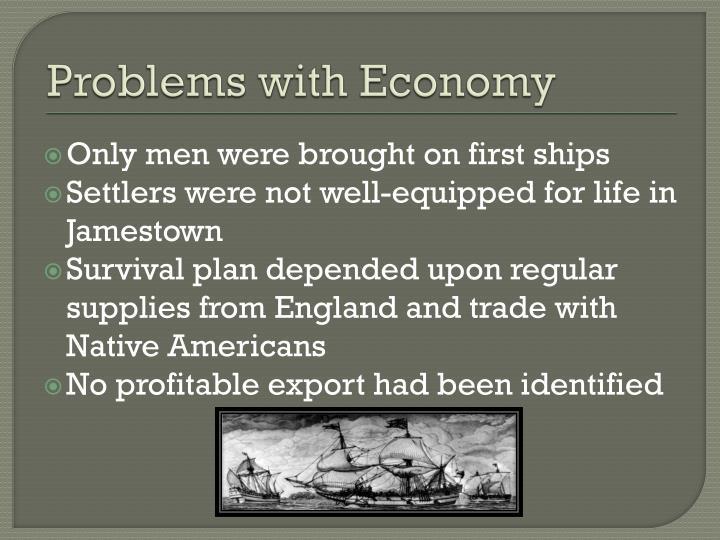 Problems with Economy