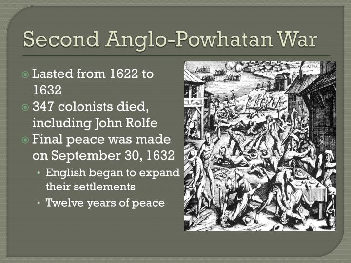 Second Anglo-Powhatan War