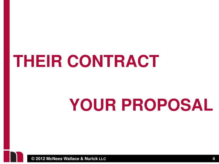 Their contract